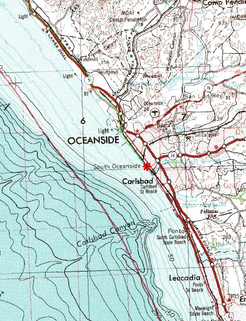 San mateo to oceanside for Oceanside fish report